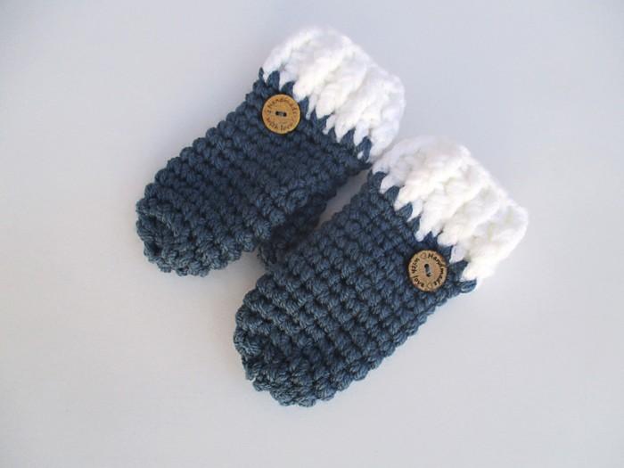 Χειροποίητα πλεκτά γάντια για αγόρια