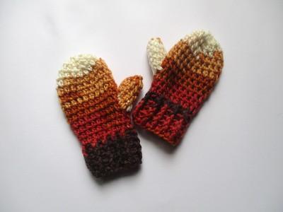 """Χειροποίητα πλεκτά γάντια """"Thenia"""""""