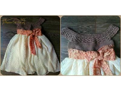 Χειροποίητο φόρεμα Elina